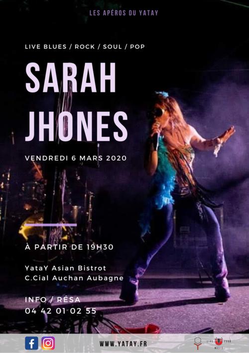 SARAH JHONES